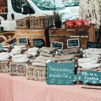 Lyon mit Kindern - Städtereise mit Kindern - Wochenmarkt