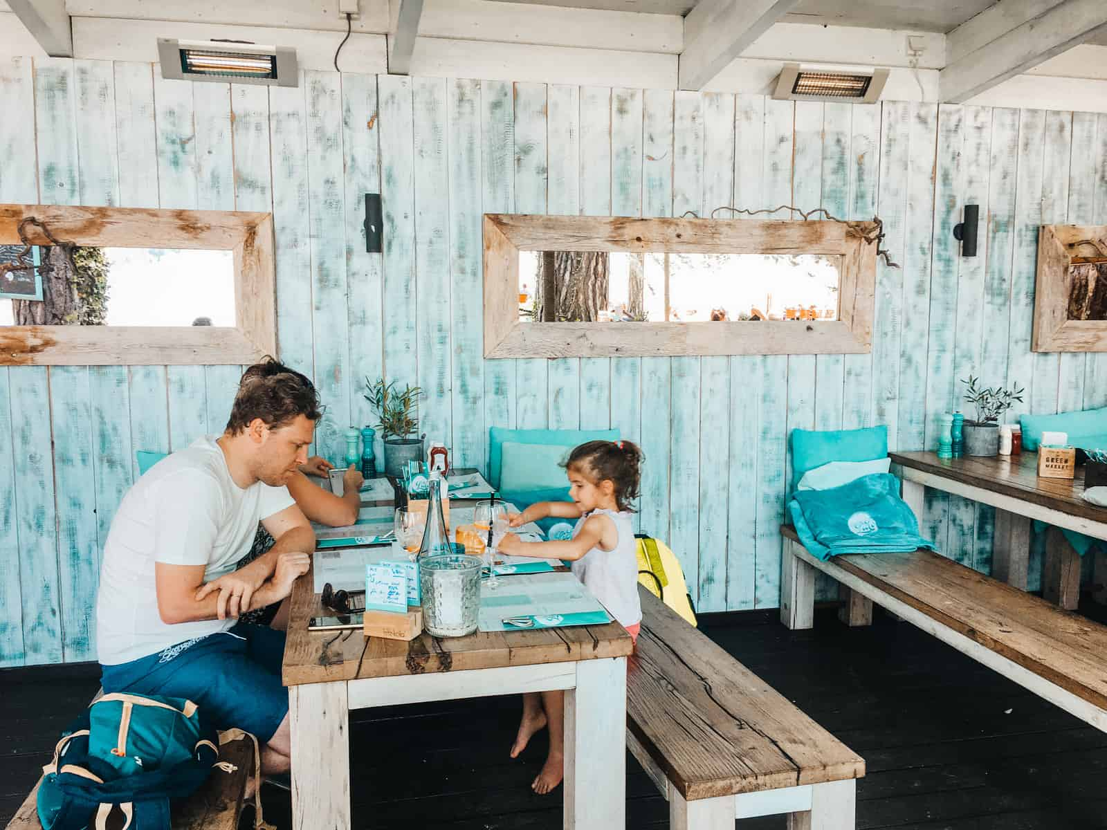 STAFFELSEE MIT KINDERN IM LIDO BEACH AND BURGER