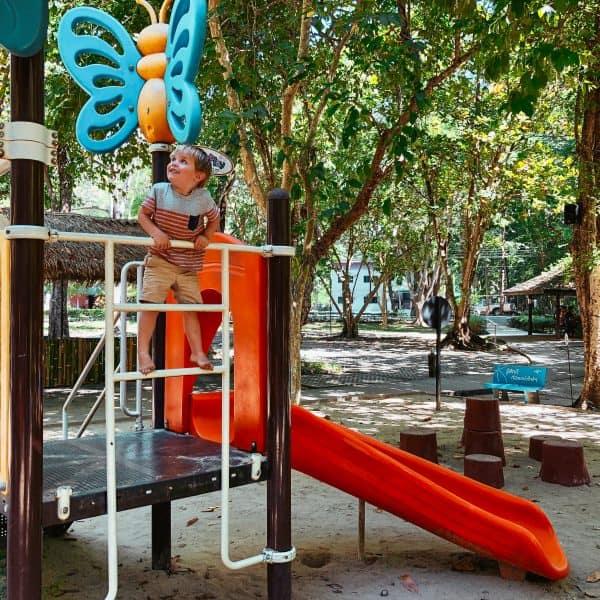 Familienurlaub Thailand mit Kind, Familienausflug nach Chiang Mai Hot Springs