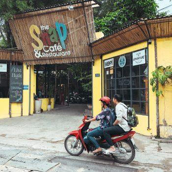 Vietnam mit Kind, HCMC, kinderfreundliches Snap Café