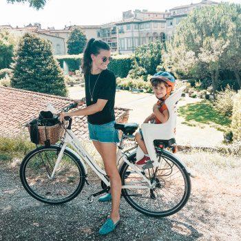 Fahrradtour in Lucca mit Kindern