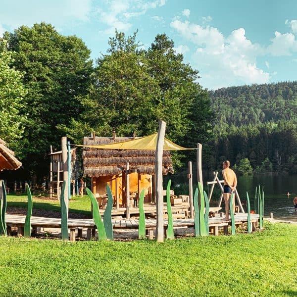 Strandbad Rauschelesee, Ausflugstipp für Familien, Kärnten mit Kind