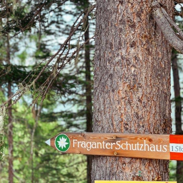 Kärnten mit Kind, Familienwanderung, Hohe Tauern, Fraganter Schutzhaus