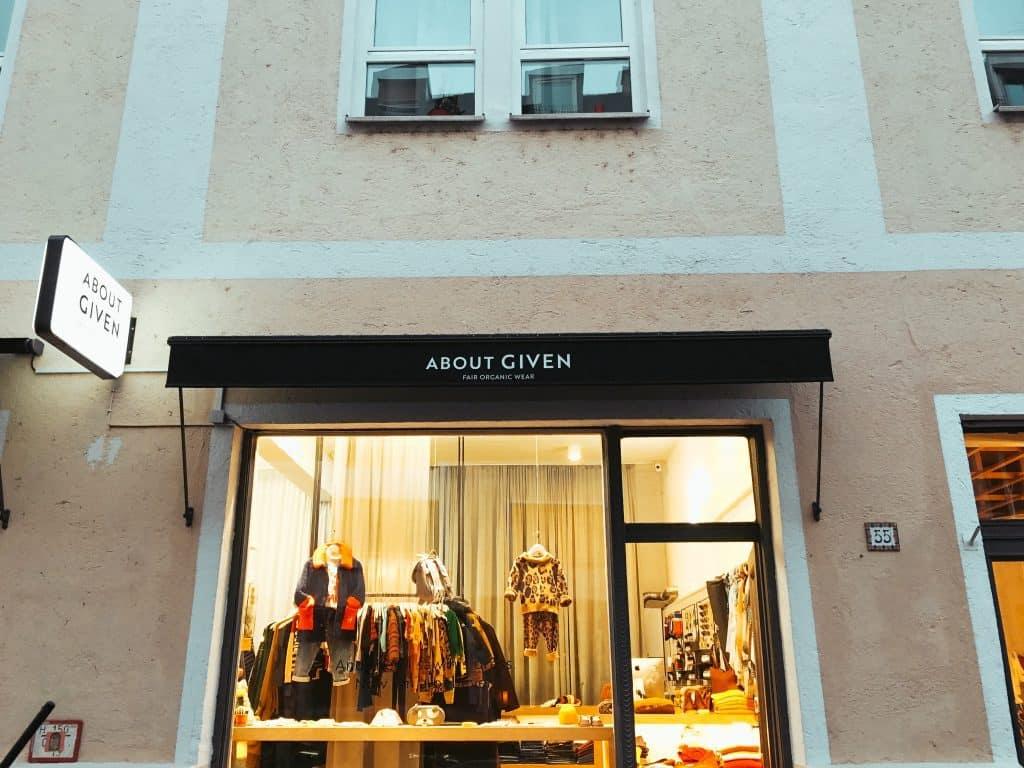About Given-fair fashion in München_nachhaltiger Kinderladen in München
