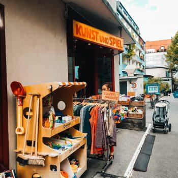 Kinderladen in München mit Spielecke Kunst und Spiel München