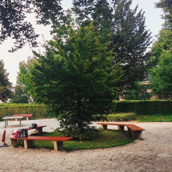 Spielplatz Böhmerwaldplatz_Spielplatz für Kleinkinder in München