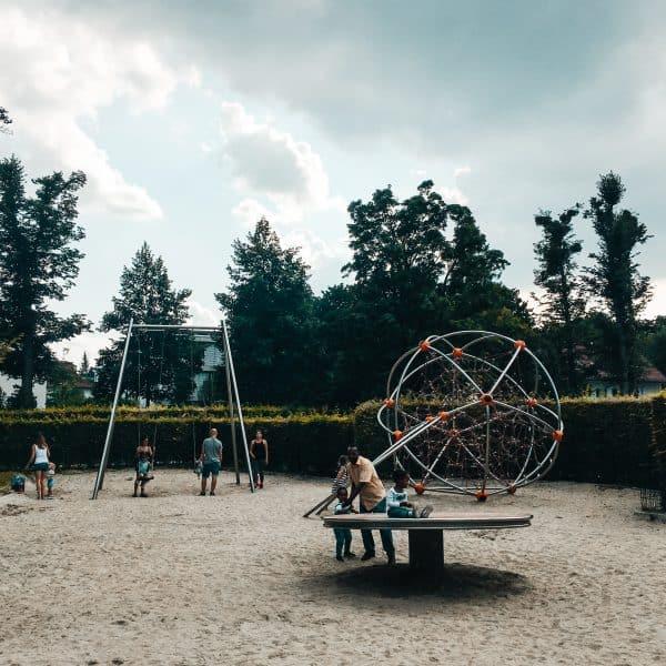Spielplatz Böhmerwaldplatz_Kletterpark in München mit Kindern