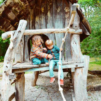 Spielplatz am Ökologischen Bildungszentrum_Spielhaus