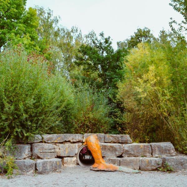 Spielplatz am Ökologischen Bildungszentrum_Balancierspiel