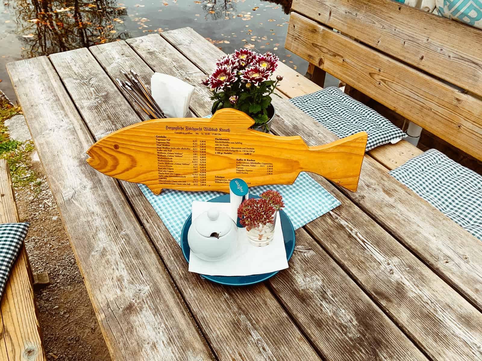 HERZOGLICHE FISCHHÜTTE (DORMANT FISH COTTAGE) AT TEGERNSEE WITH CHILDREN