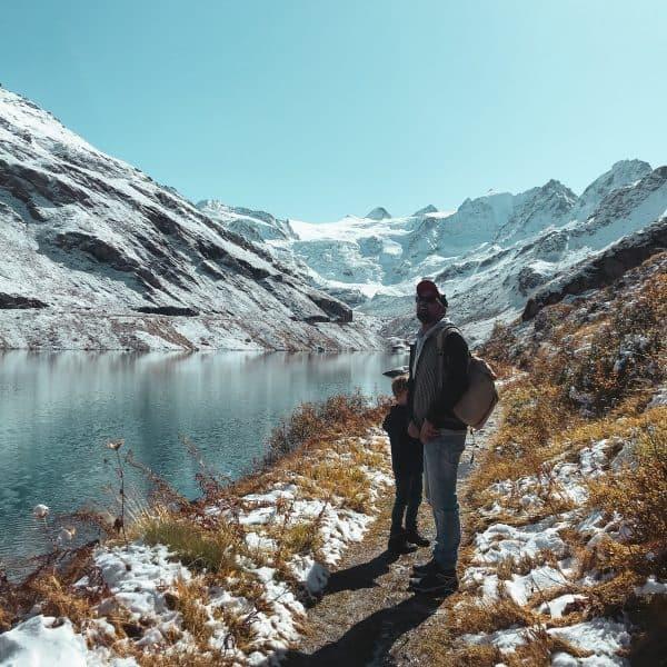Familienurlaub im REKA Feriendorf in Zinal_Ausflugstipp in der Schweiz mit Kindern_Rundwanderung Lac de Moiry