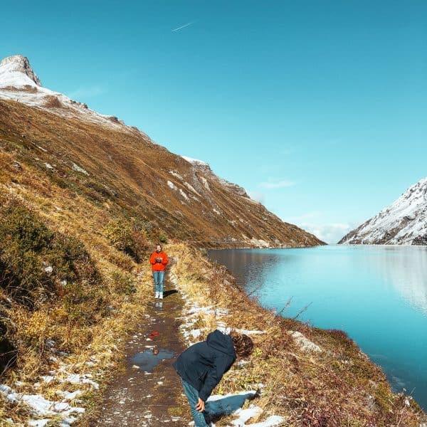 Familienurlaub im REKA Feriendorf in Zinal_Ausflugstipp in der Schweiz mit Kindern_Rundwanderung Lac de Moiry8