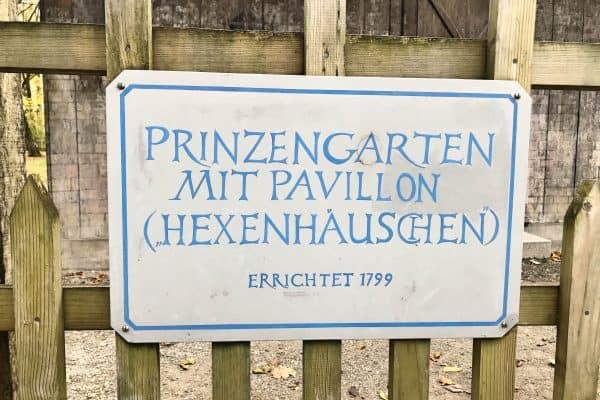 Prinzengarten Nymphenburger Schloss, Ausflugstipp München mit Kind