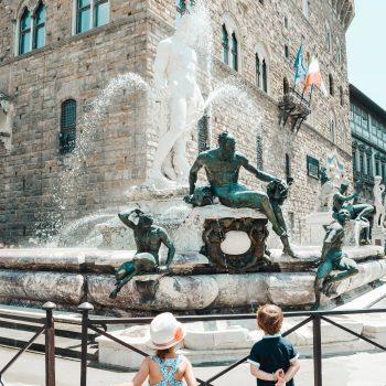 Familienausflug nach Florenz mit Kindern
