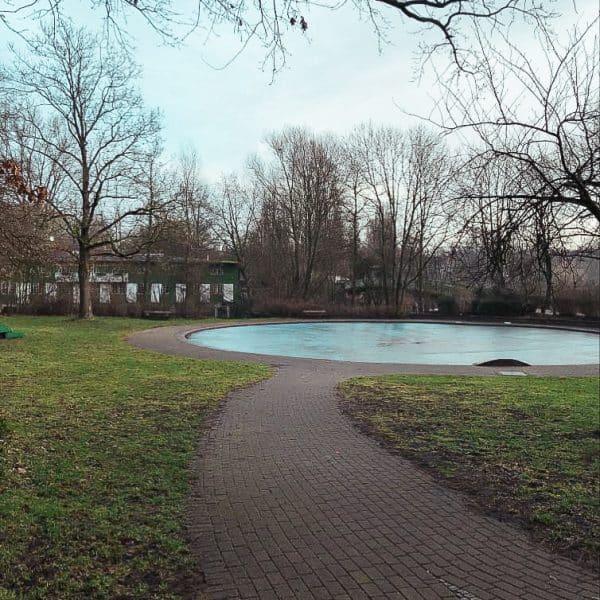 Familienfreundlicher Hayn Park in Hamburg Eppendorf, Familienausflug Hamburg, Alster
