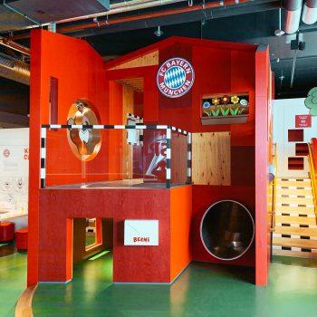 FC Bayern Erlebniswelt in München mit Kindern