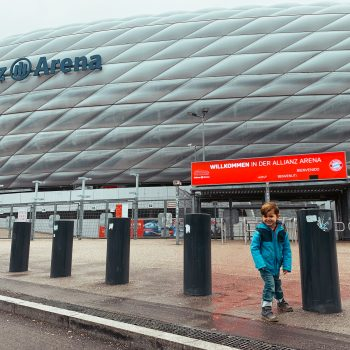 FC Bayern Erlebniswelt in München mit KindernFC Bayern Erlebniswelt in München mit Kindern