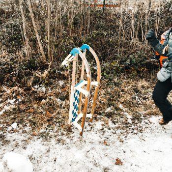 Ausflug im Winter mit Kindern_Rodeln Blombergbahn Bad Tölz