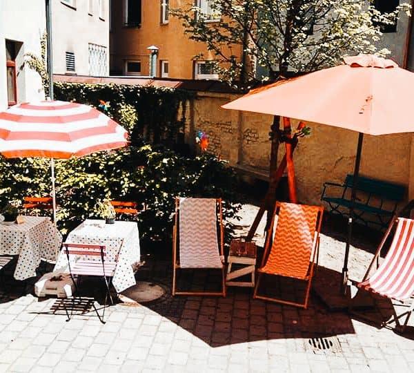 Kinderfreundliches Café Zuckertag in München mit Kind