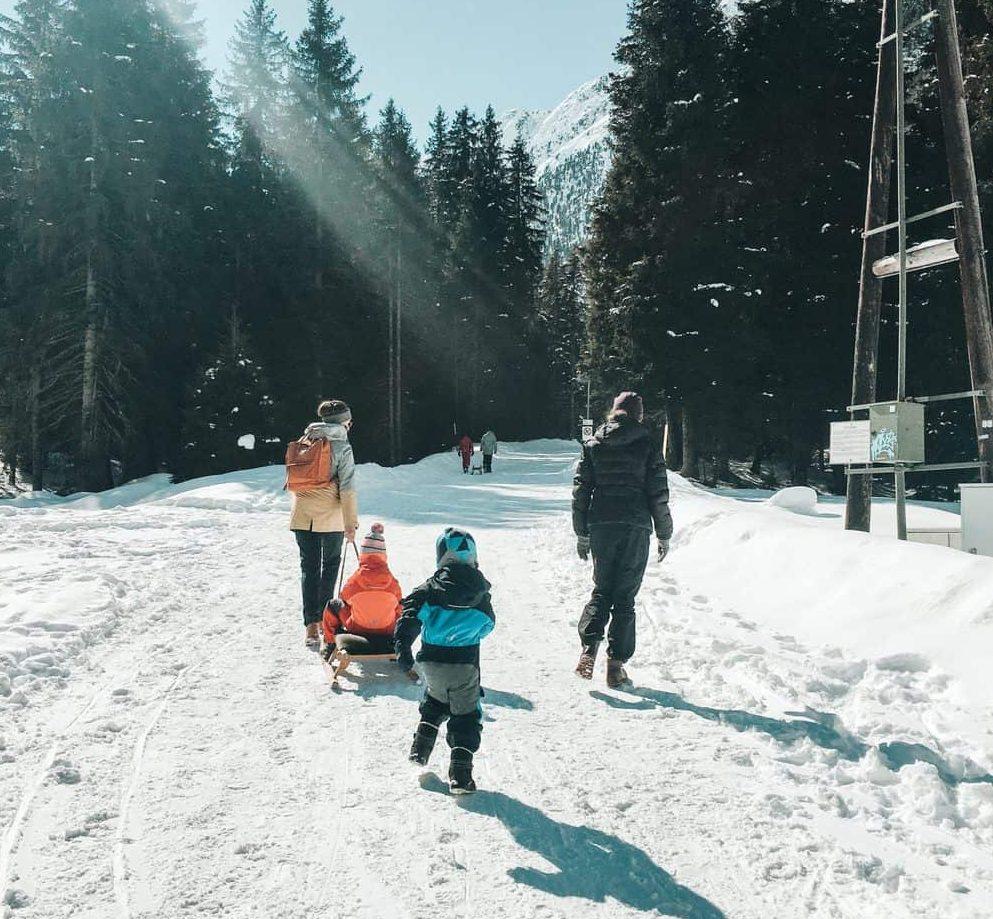 FAMILIENAUSFLUGSZIEL UND RODELBAHN IM SELLRAINTAL