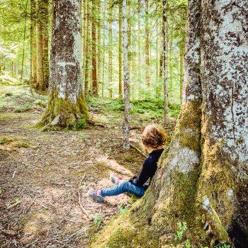 Wandern am Eibsee mit Kindern