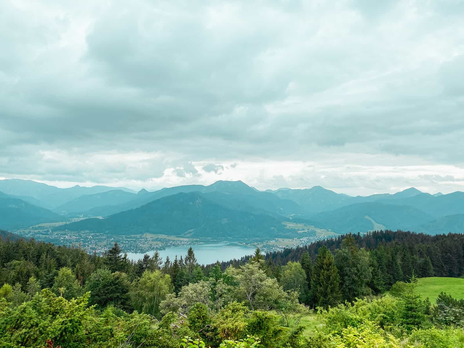 HIKE WITH A GIANT PANORAMIC VIEW OF THE TEGERNSEE