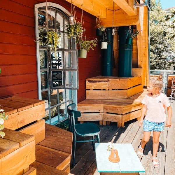 familienfreundliches Café in München