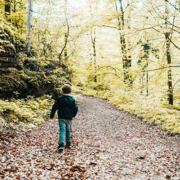 Kinderwanderung in Kärnten, Ostbucht Wörthersee, Maiernigg, Komponierhäuschen Gustav Mahler, wandern mit Kind