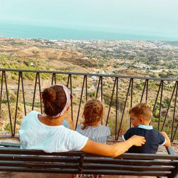 Mijas mit Kindern in Andalusien
