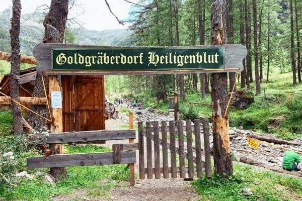 Familienabenteuer bei Goldgräberstadt in Heiligenblut in Kärnten, the urban kids