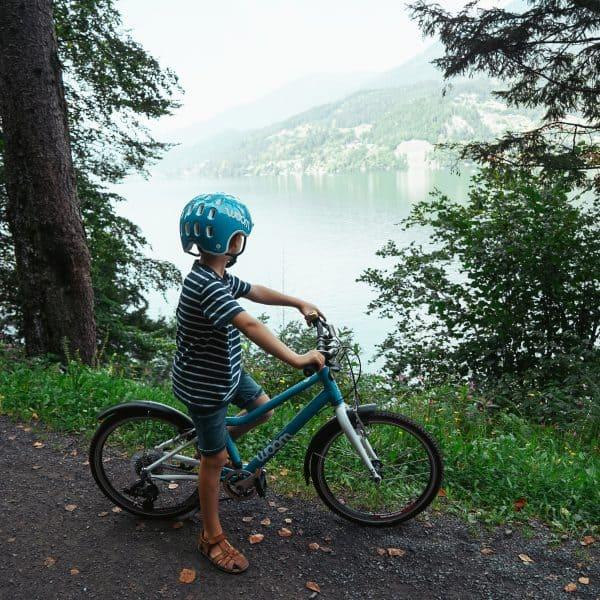 Radtour Millstätter See mit Kind, Kärnten mit Kind, Carinthia