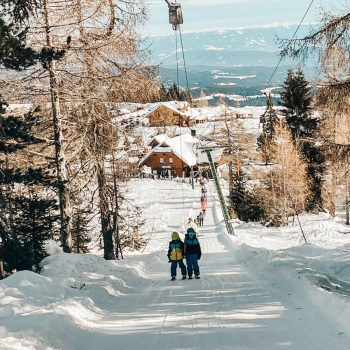Familienskigebiet Hochrindl in Kärnten, the urban kids