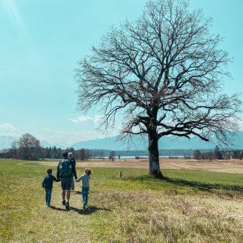 Familienfreundliche Wanderung am Staffelsee mit Kindern