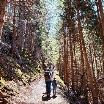 Familienfreundliche Wanderung in Bayern