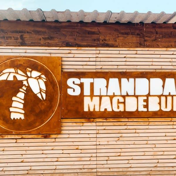 Ausflugsziel Strandbar in Magdeburg mit Kindern