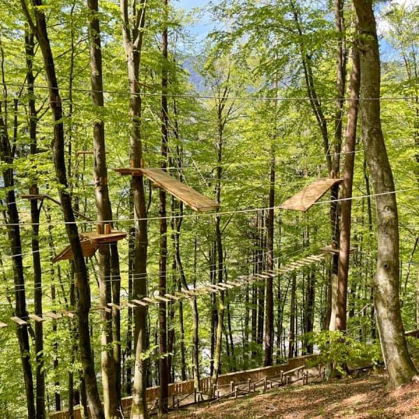 Kletterspaß Familywald und Kletterwald Ossiacher See, the urban kids