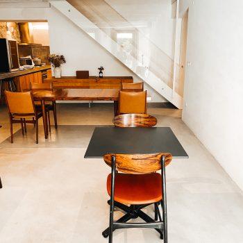 Entspannt essen oder Frühstücken in Porto in der familienfreundlichen Unterkunft dem Malmerendas