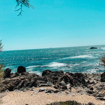 Ausflugsziel in Porto mit Kindern an den Strand ins Restaurant Praia da Luz
