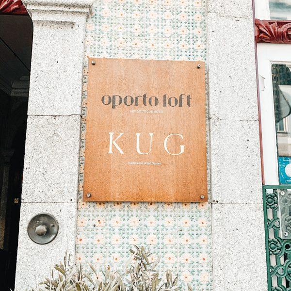 Abendessen in Porto im familienfreundlichen Restaurant dem KUG