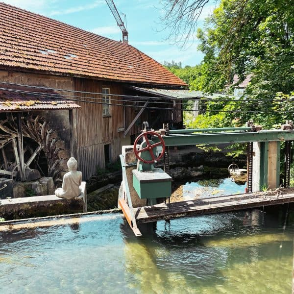 Familenausflug in Schwaben zur Trost Mühle
