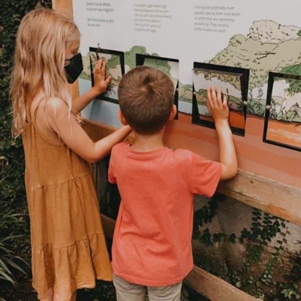 Leipzig mit Kindern - Besuch Gondwanaland im Zoo Leipzig