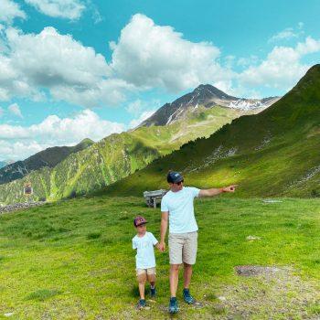 Wandern im Zillertal mit Kindern - Genusswanderung Ahorn
