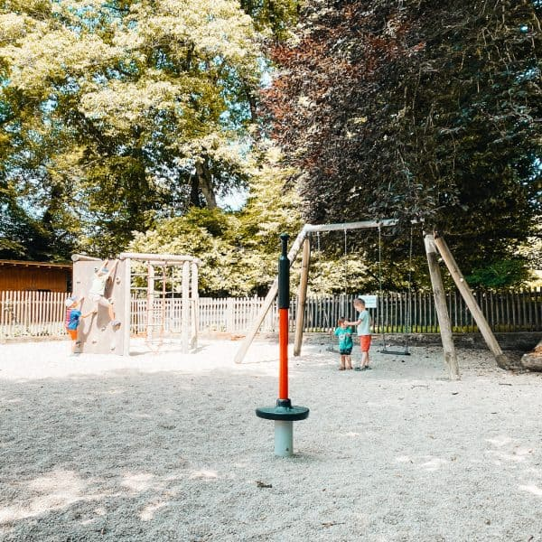 Biergarten in München mit Kindern und Spielplatz - Forsthaus Kasten