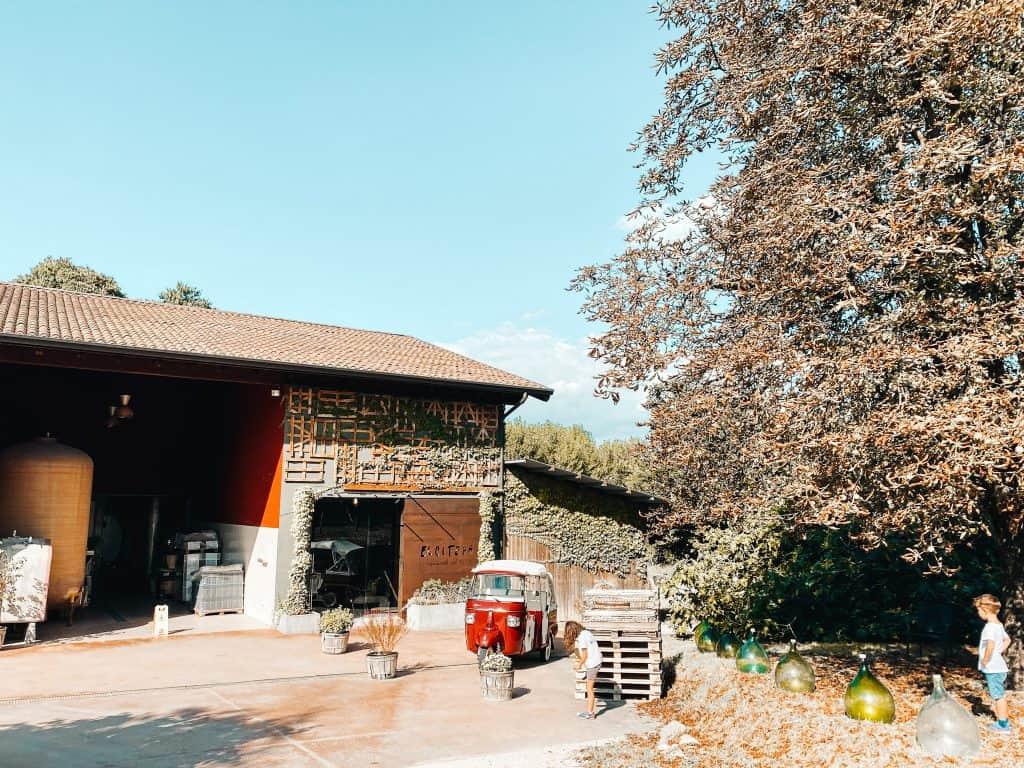 Ausflugsziel am Gardasee für Familien mit Liebe zum Wein